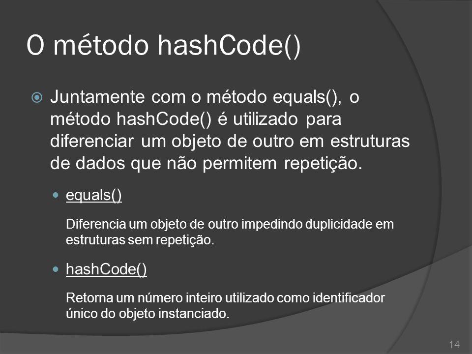O método hashCode()