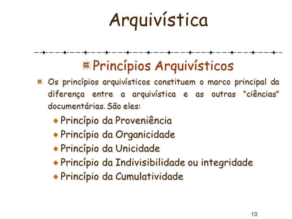 Princípios Arquivísticos