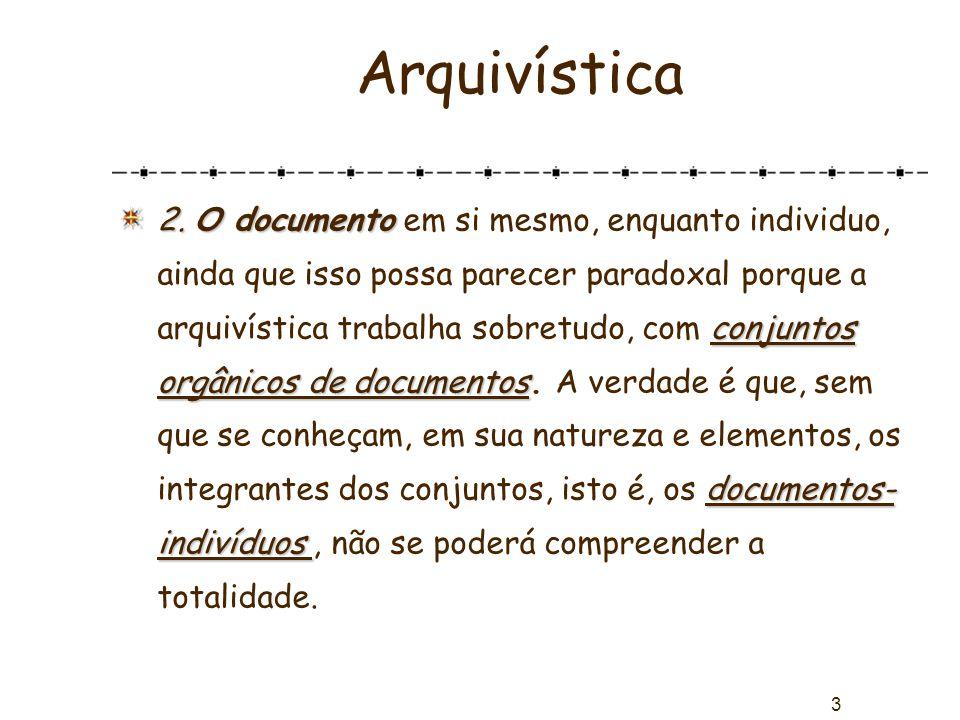 Arquivística