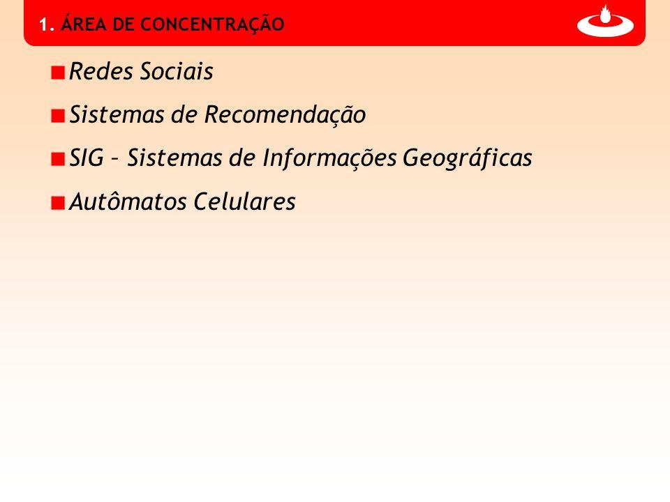 Sistemas de Recomendação SIG – Sistemas de Informações Geográficas