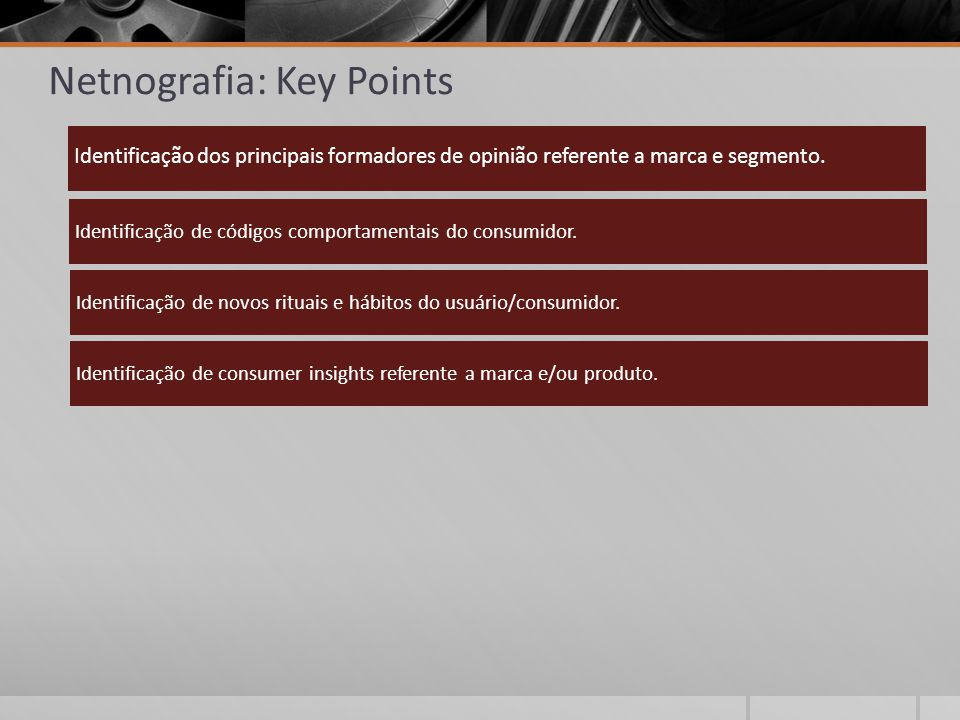 Netnografia: Key Points
