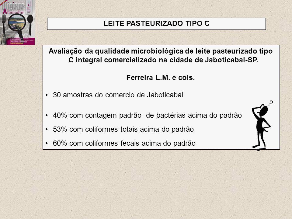 LEITE PASTEURIZADO TIPO C