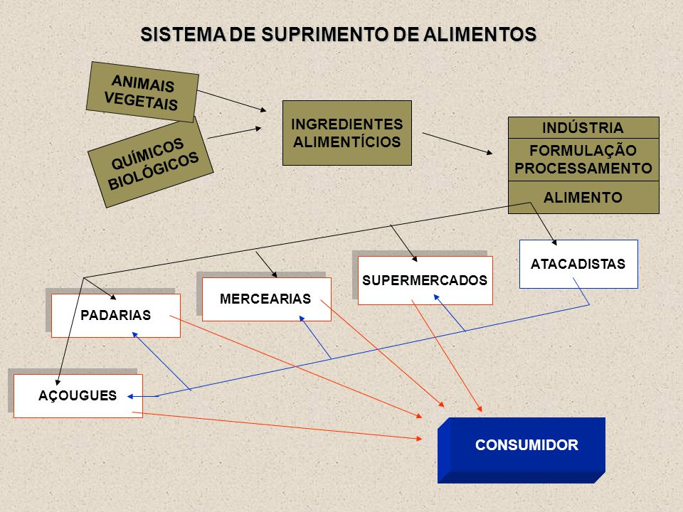 SISTEMA DE SUPRIMENTO DE ALIMENTOS