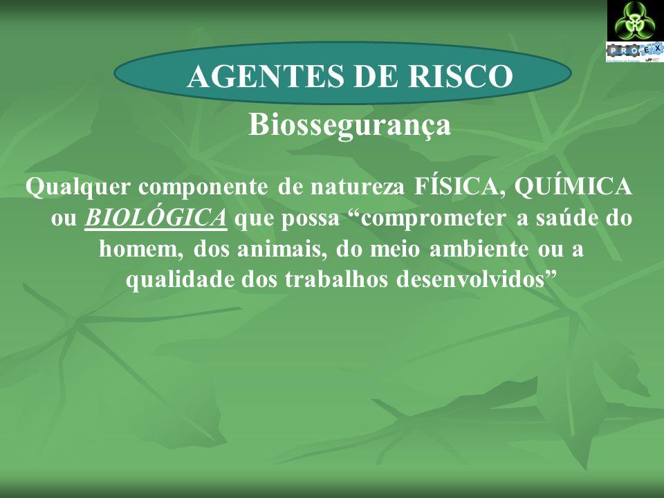 AGENTES DE RISCO Biossegurança