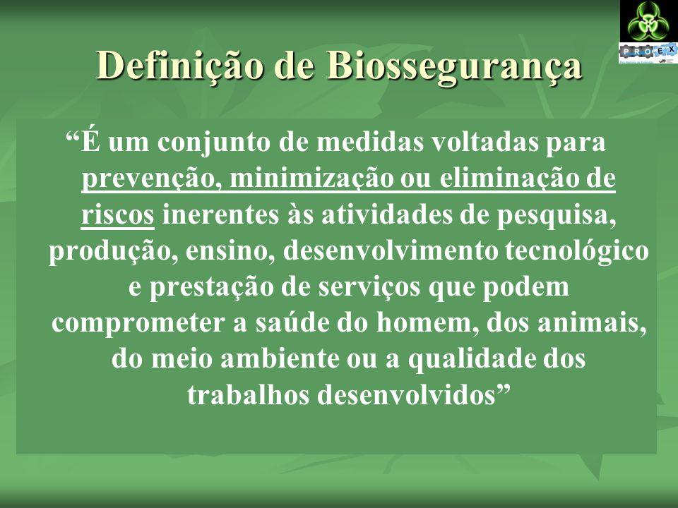 Definição de Biossegurança