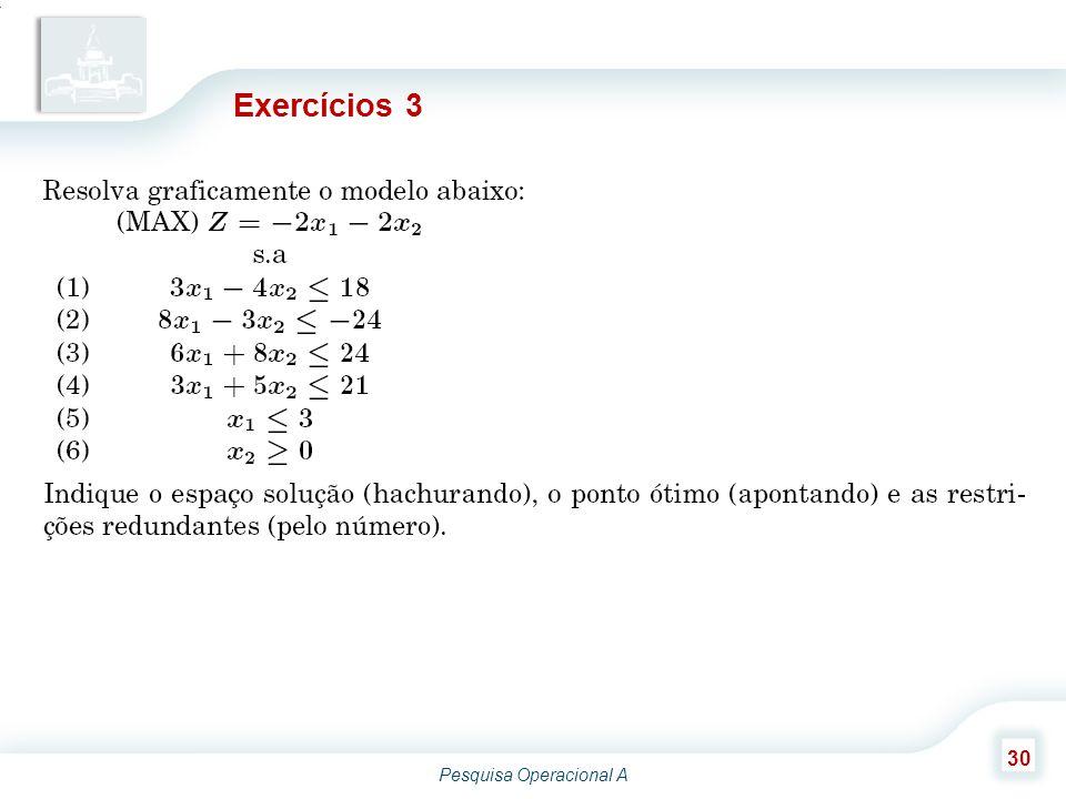 Exercícios 3