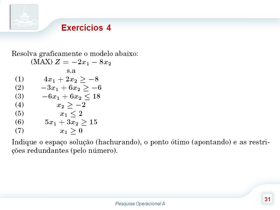 Exercícios 4