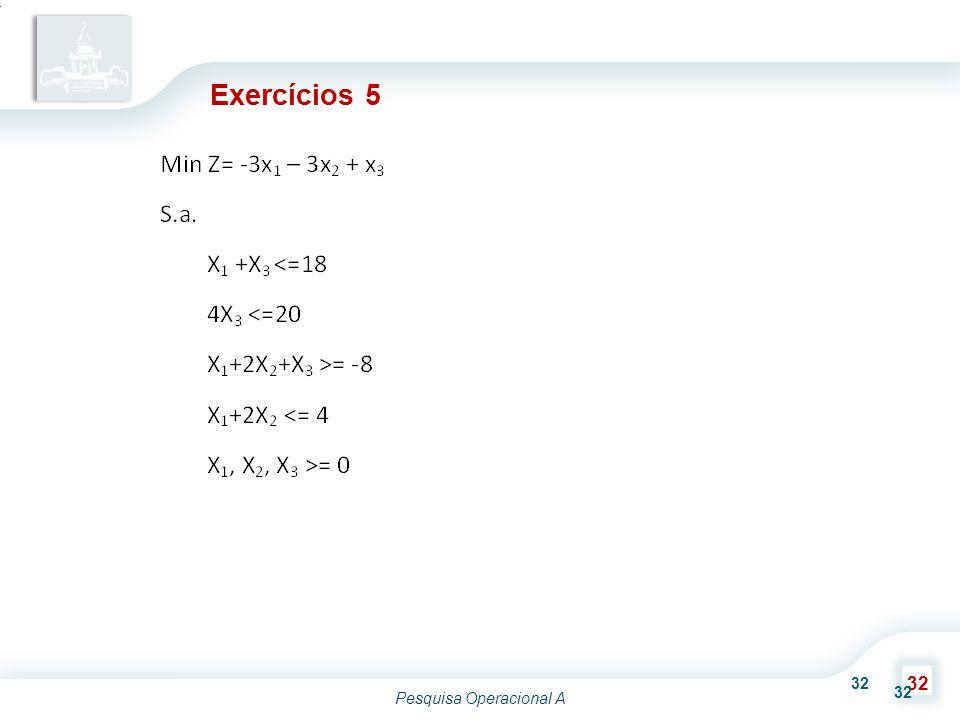 Exercícios 5 32