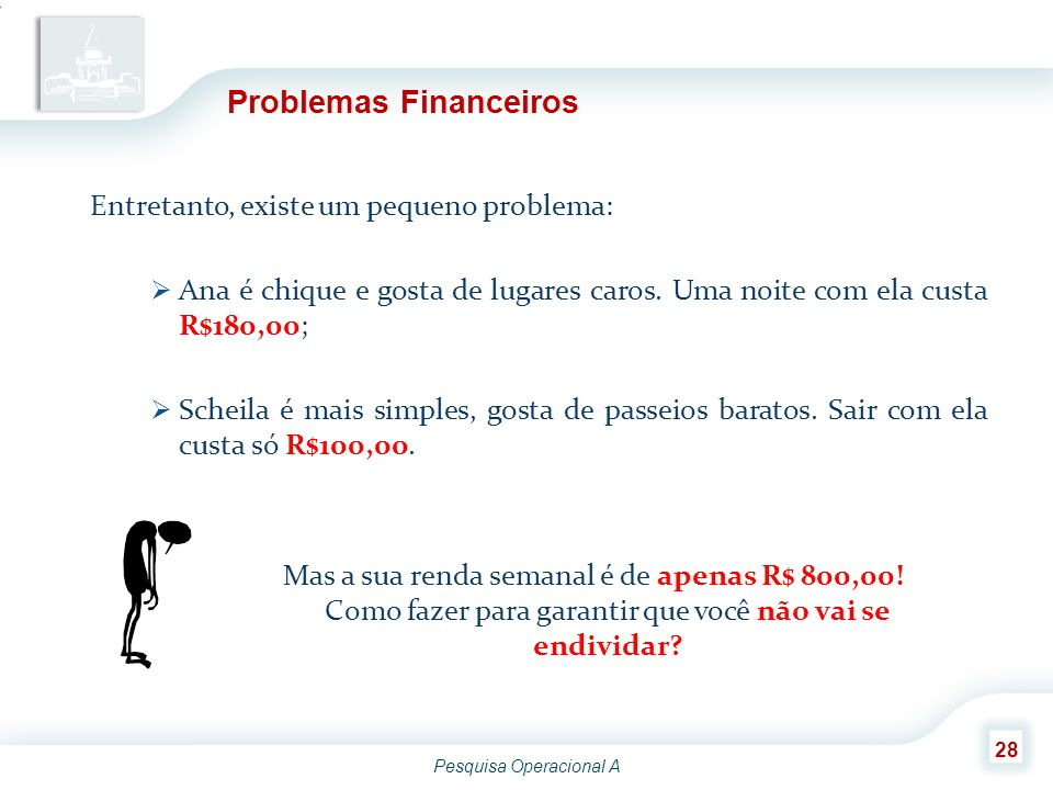 Problemas Financeiros