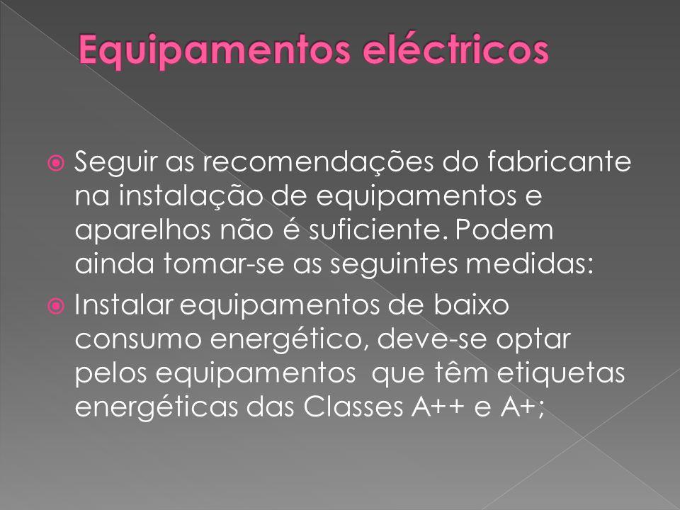 Equipamentos eléctricos