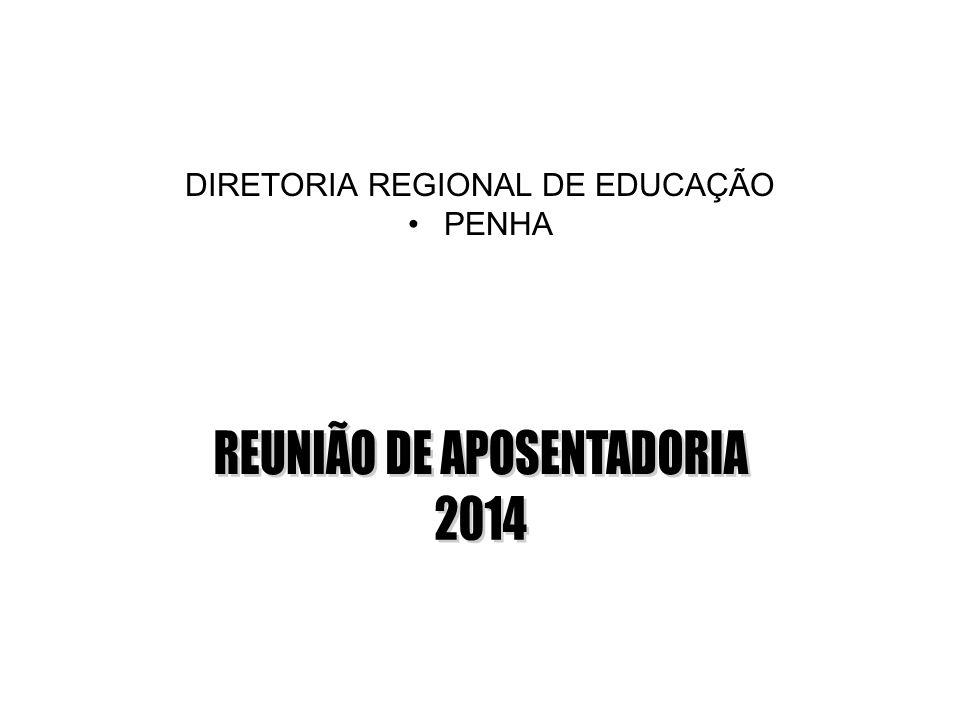 REUNIÃO DE APOSENTADORIA 2014