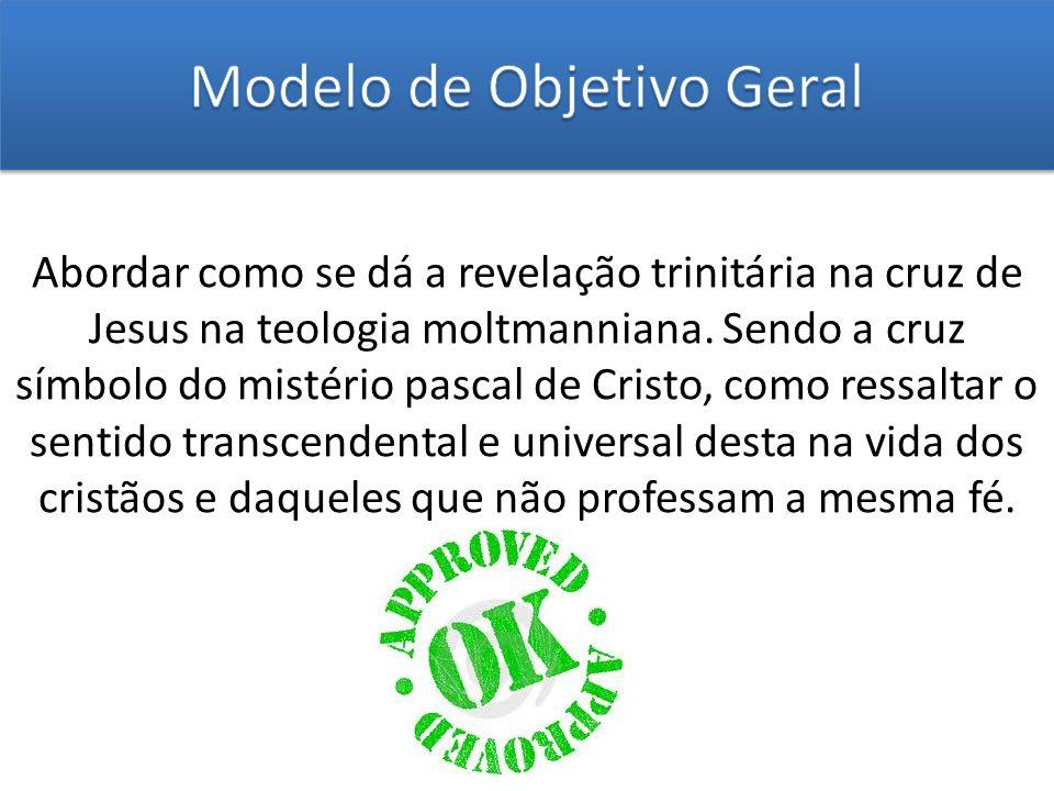 Modelo de Objetivo Geral