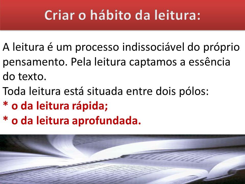 Criar o hábito da leitura: