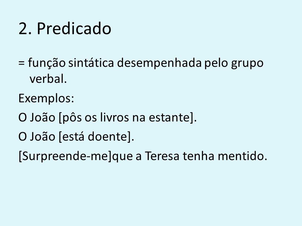 2. Predicado