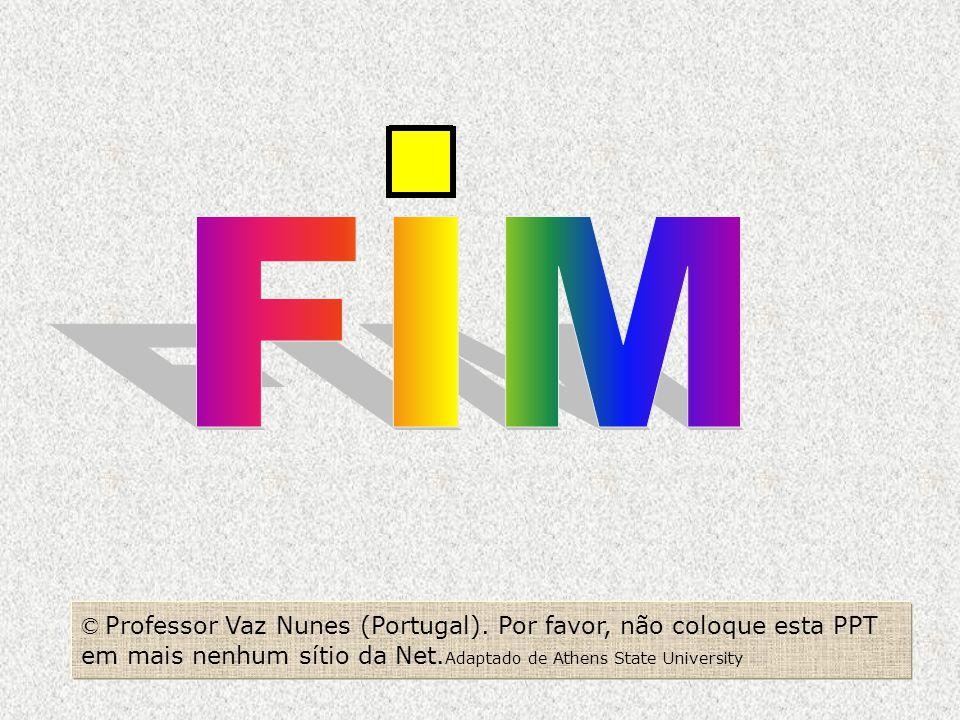 FIM © Professor Vaz Nunes (Portugal).