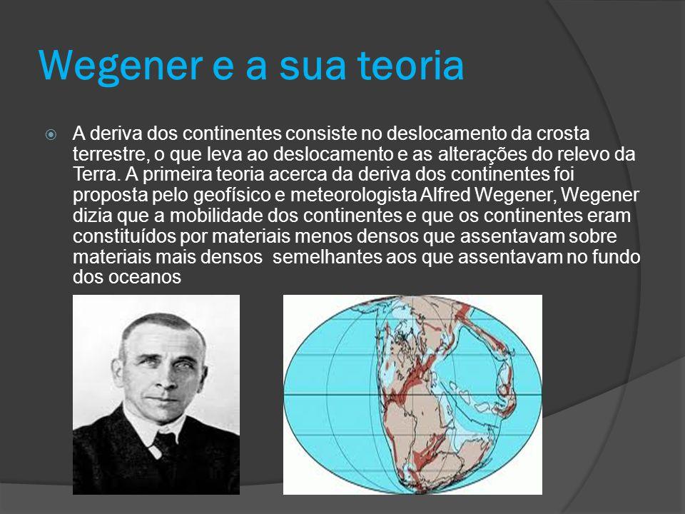 Wegener e a sua teoria