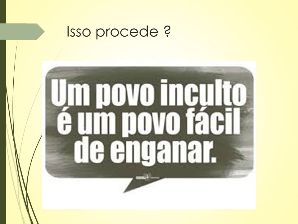 Isso procede