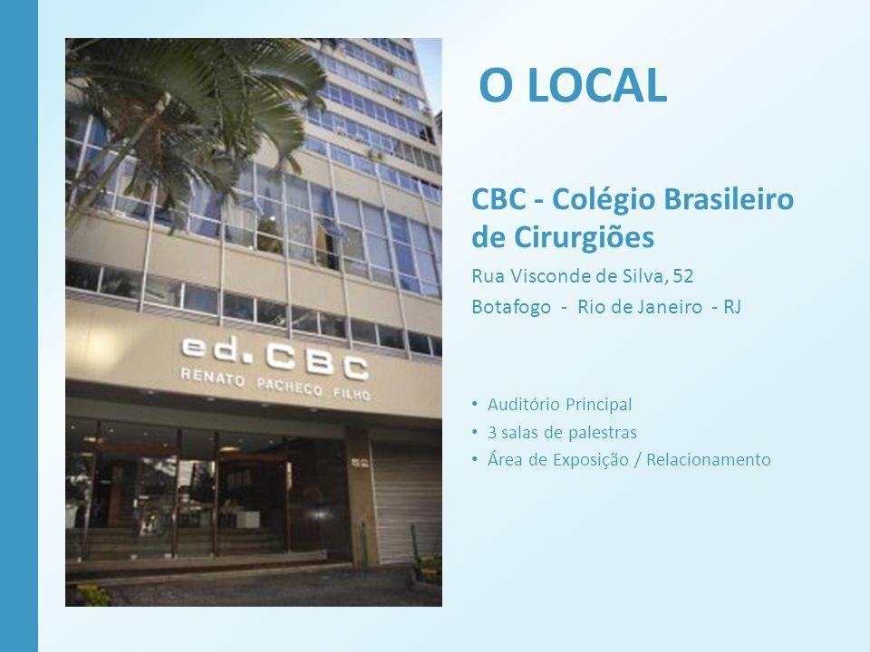 O LOCAL CBC - Colégio Brasileiro de Cirurgiões