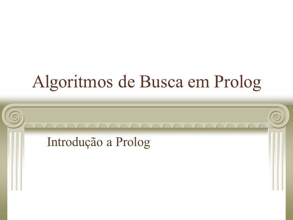 Algoritmos de Busca em Prolog