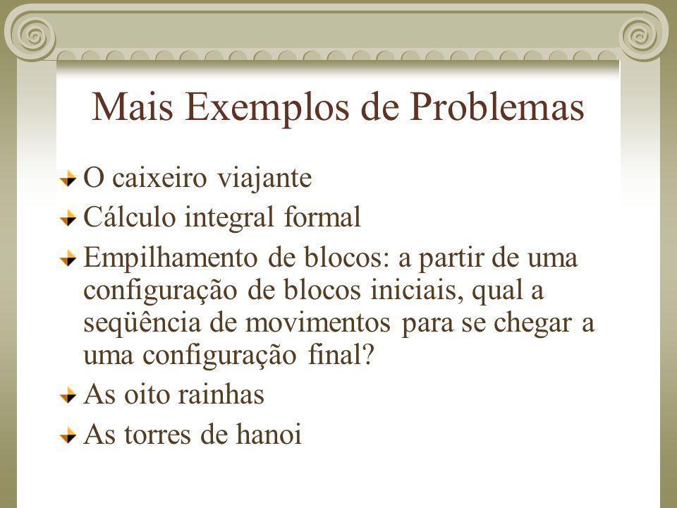 Mais Exemplos de Problemas