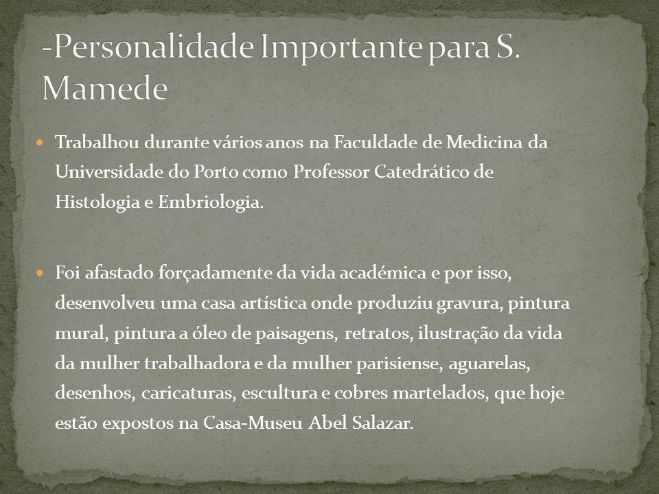 -Personalidade Importante para S. Mamede