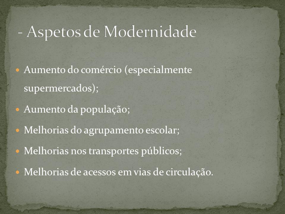 - Aspetos de Modernidade