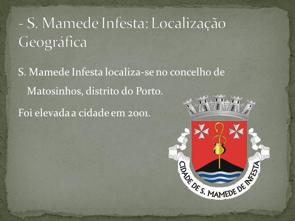 - S. Mamede Infesta: Localização Geográfica