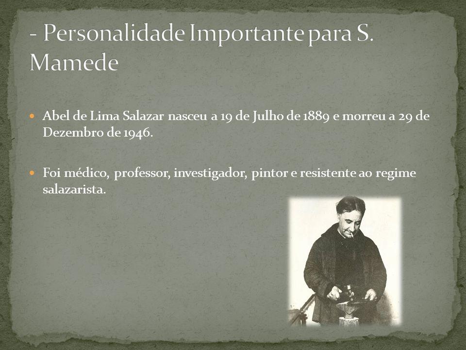 - Personalidade Importante para S. Mamede