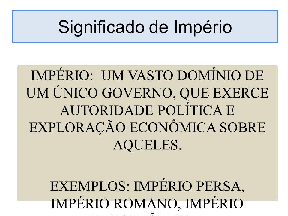 Significado de Império