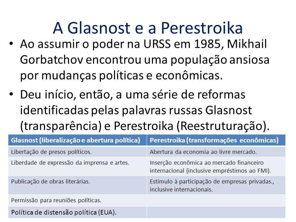 A Glasnost e a Perestroika
