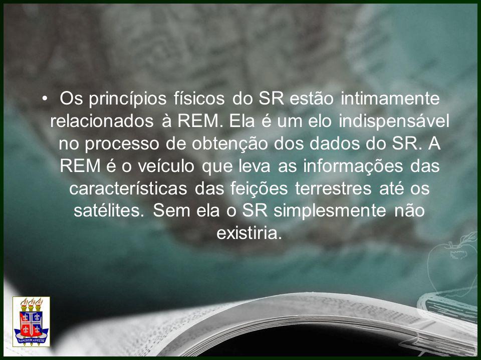 Os princípios físicos do SR estão intimamente relacionados à REM