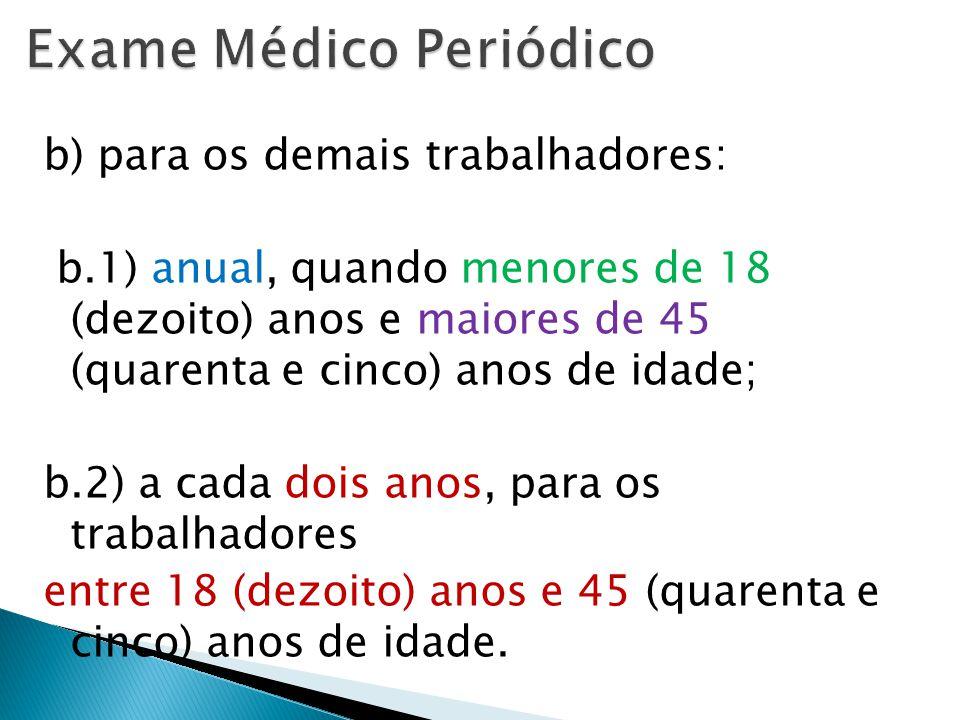 Exame Médico Periódico