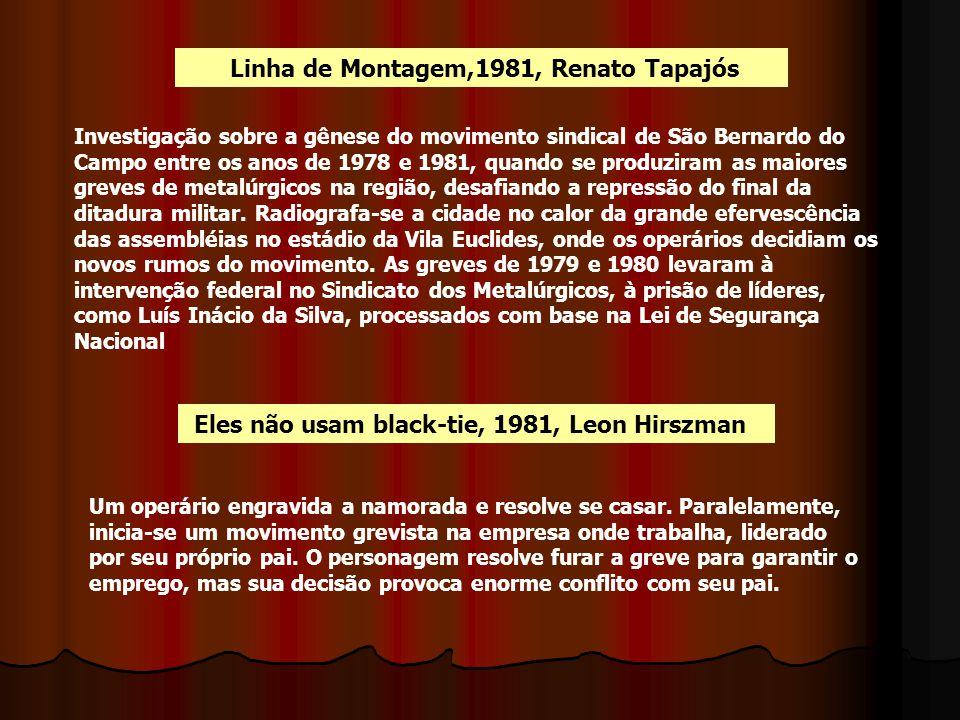 Linha de Montagem,1981, Renato Tapajós