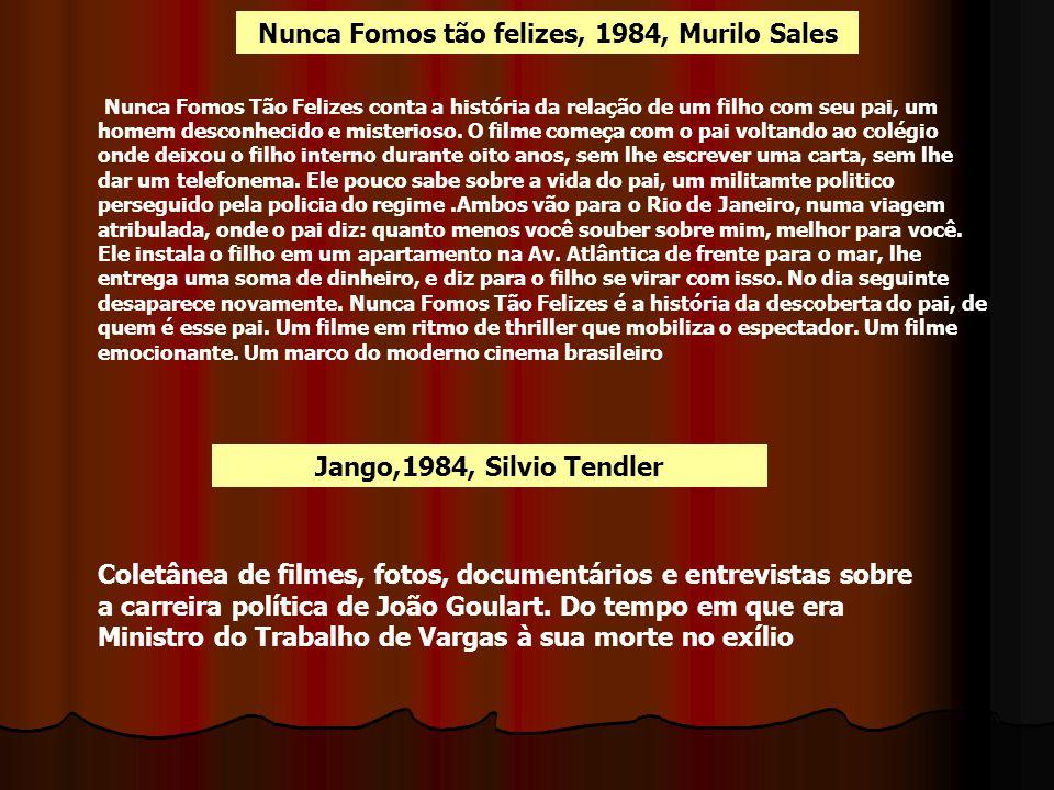 Nunca Fomos tão felizes, 1984, Murilo Sales