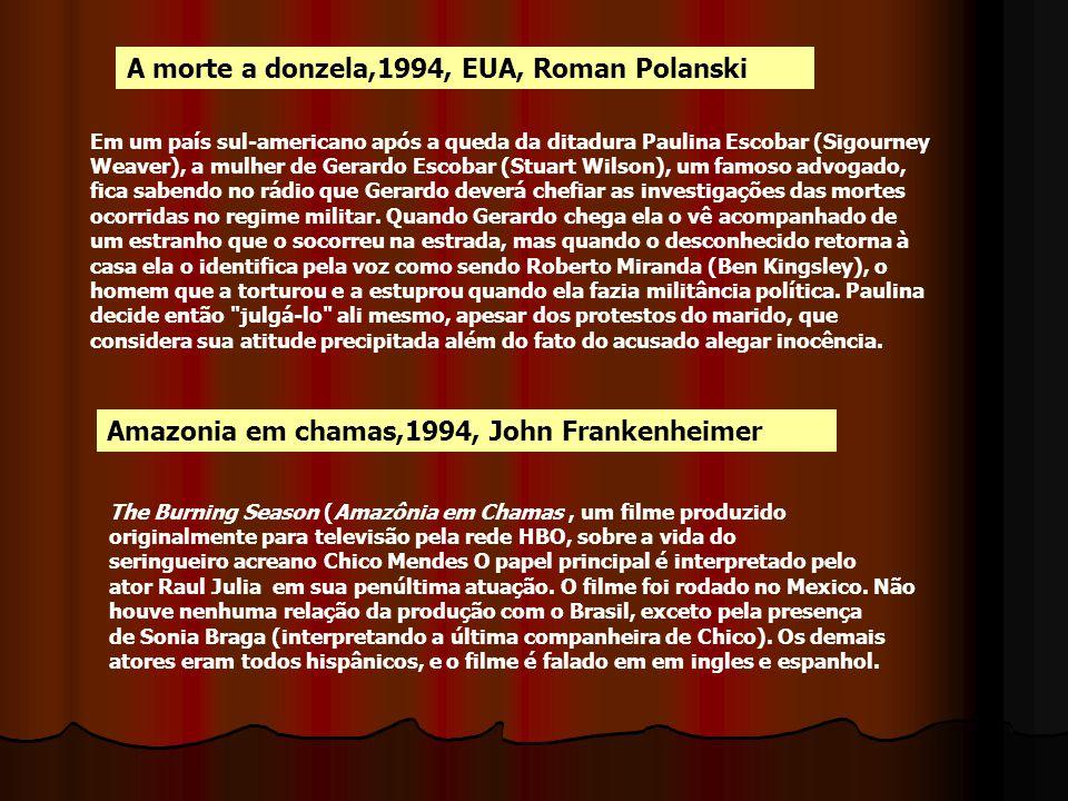 A morte a donzela,1994, EUA, Roman Polanski