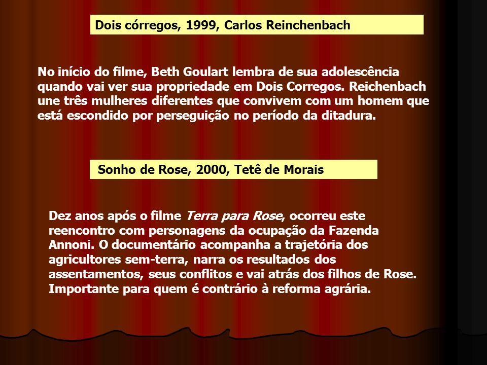 Dois córregos, 1999, Carlos Reinchenbach