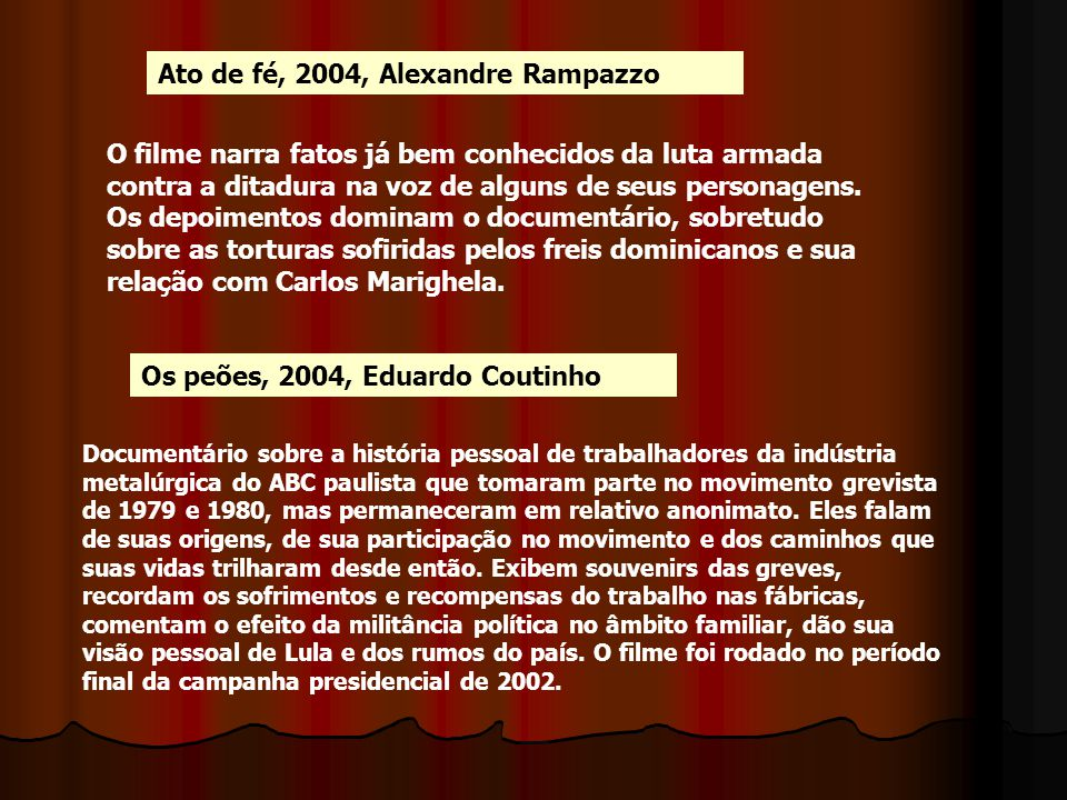 Ato de fé, 2004, Alexandre Rampazzo