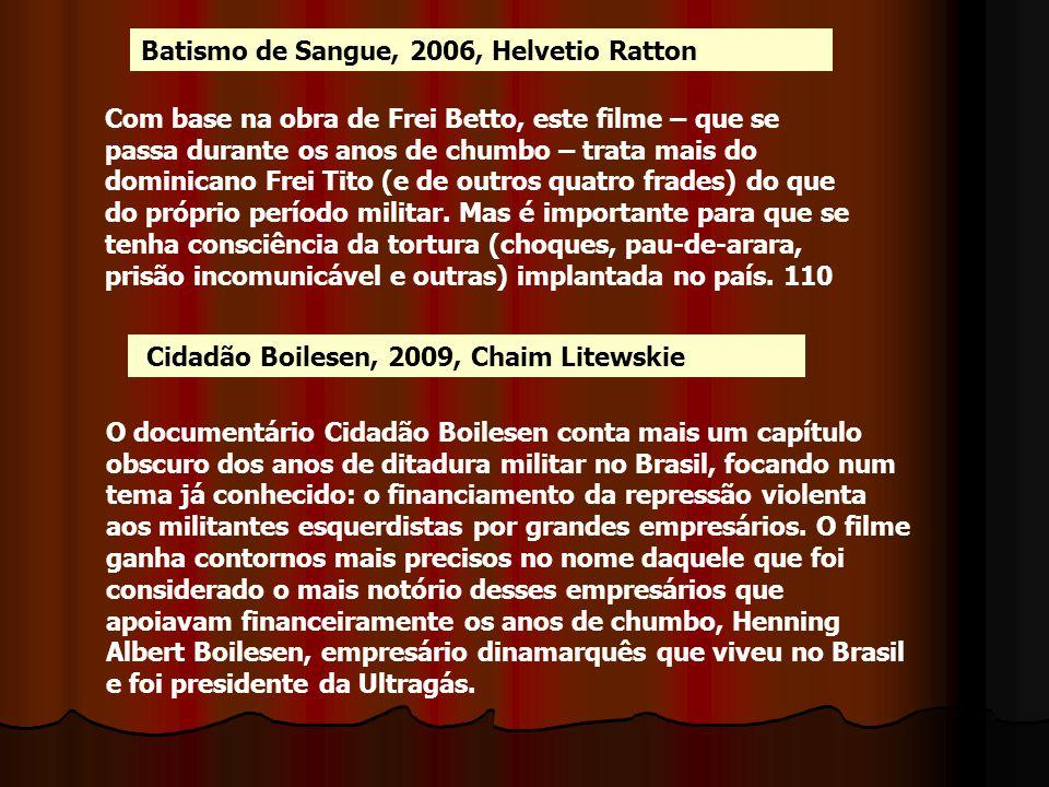 Batismo de Sangue, 2006, Helvetio Ratton