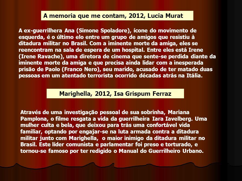 Marighella, 2012, Isa Grispum Ferraz