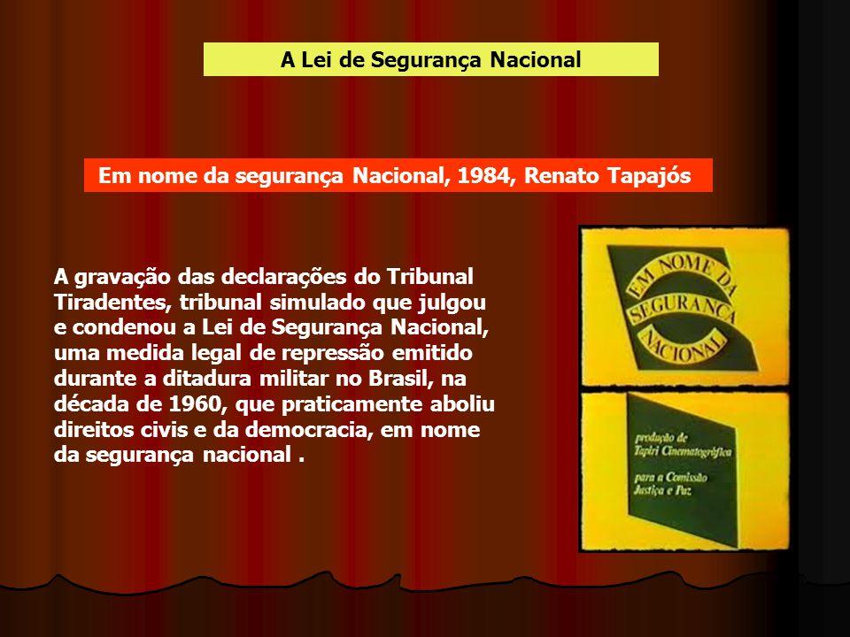 A Lei de Segurança Nacional