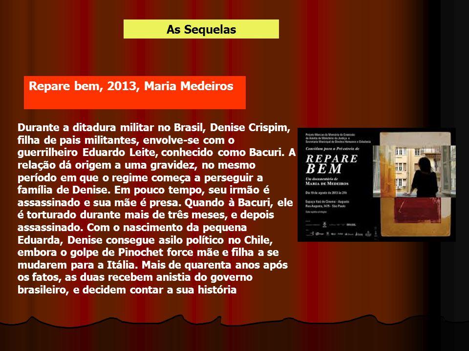 Repare bem, 2013, Maria Medeiros