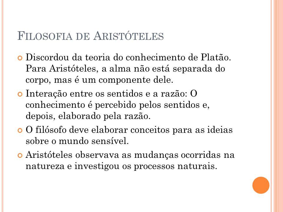 Filosofia de Aristóteles