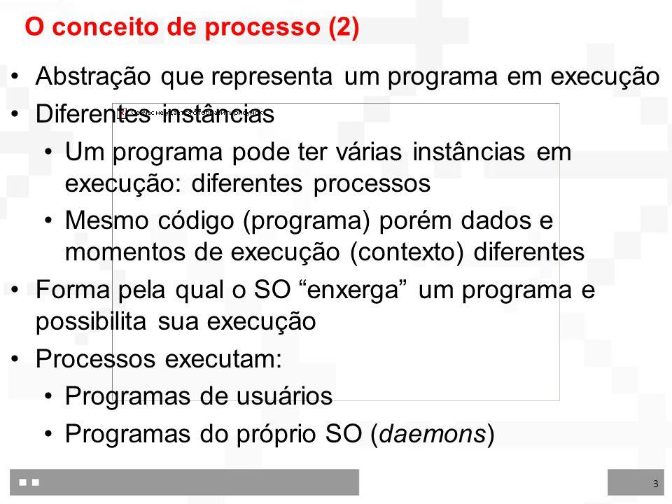 O conceito de processo (2)
