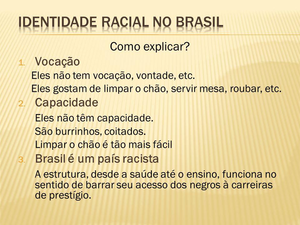 Identidade Racial no Brasil