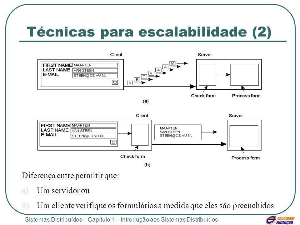 Técnicas para escalabilidade (2)