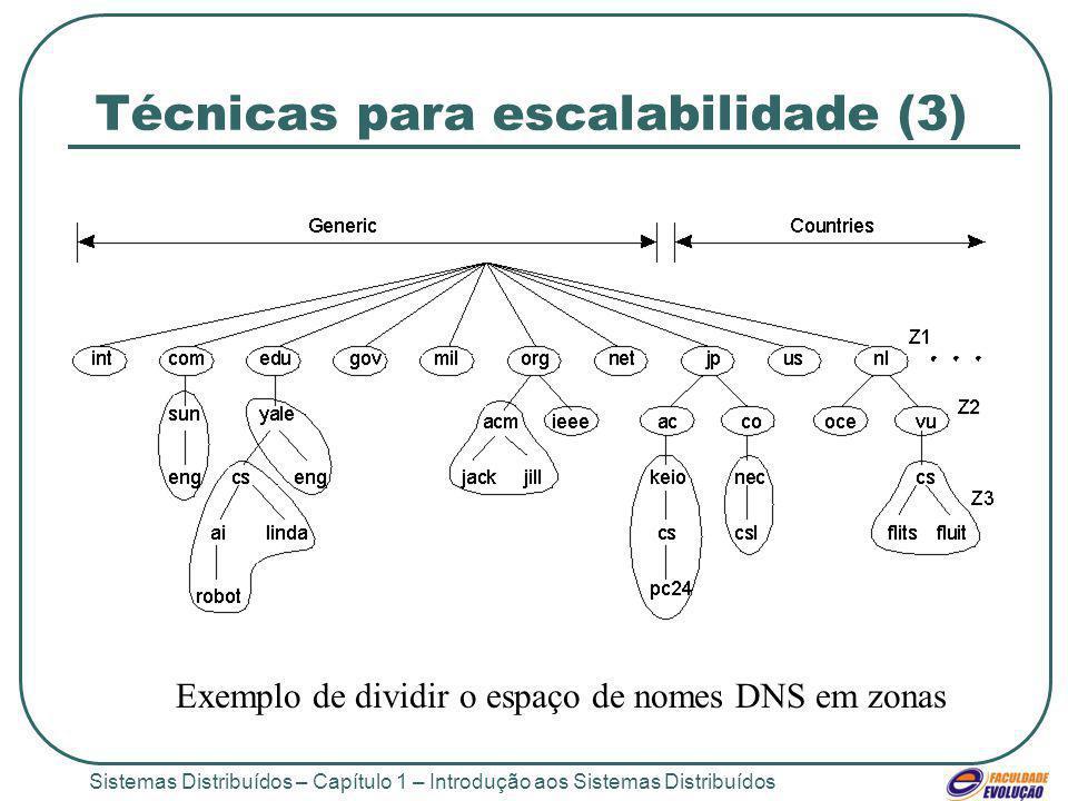 Técnicas para escalabilidade (3)