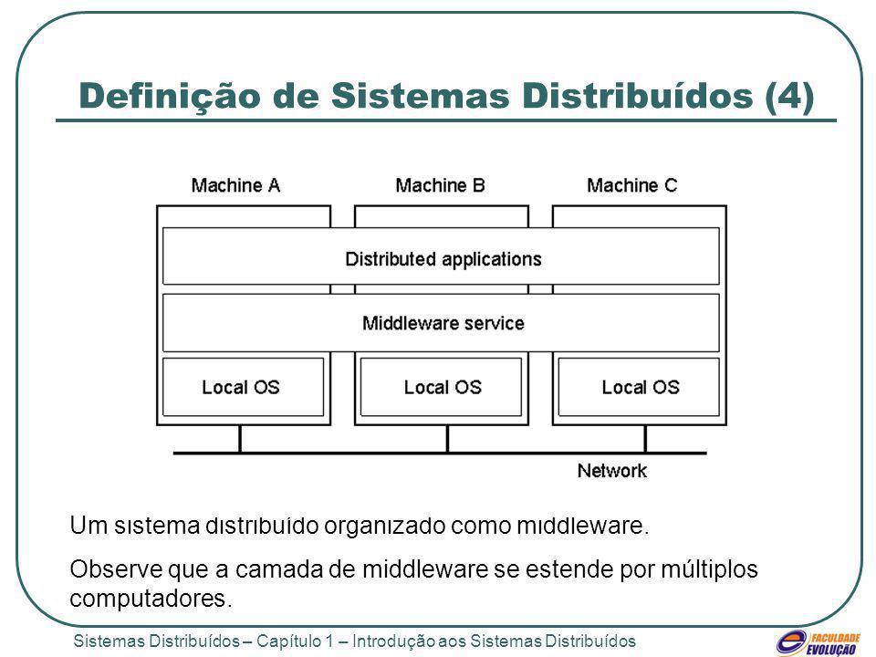 Definição de Sistemas Distribuídos (4)
