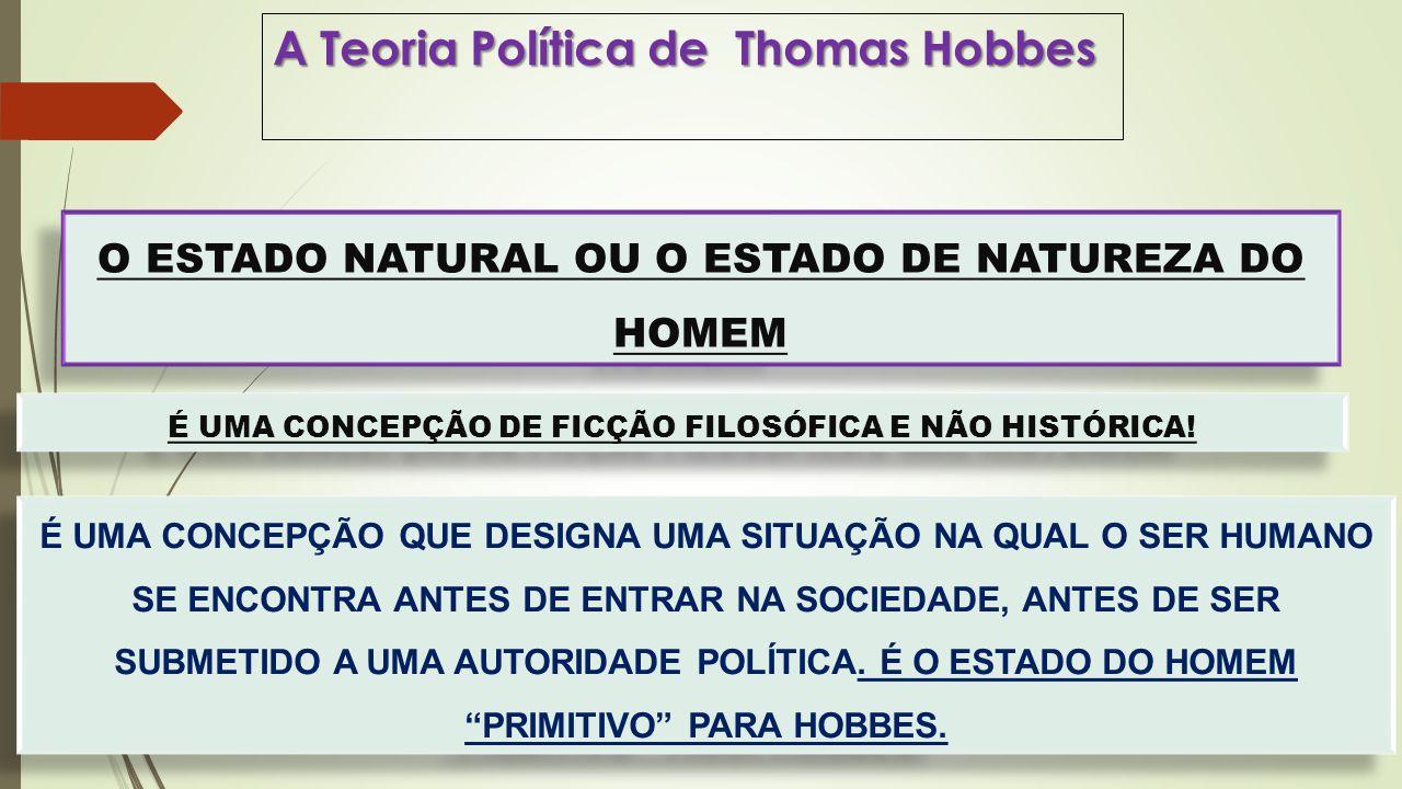 A Teoria Política de Thomas Hobbes