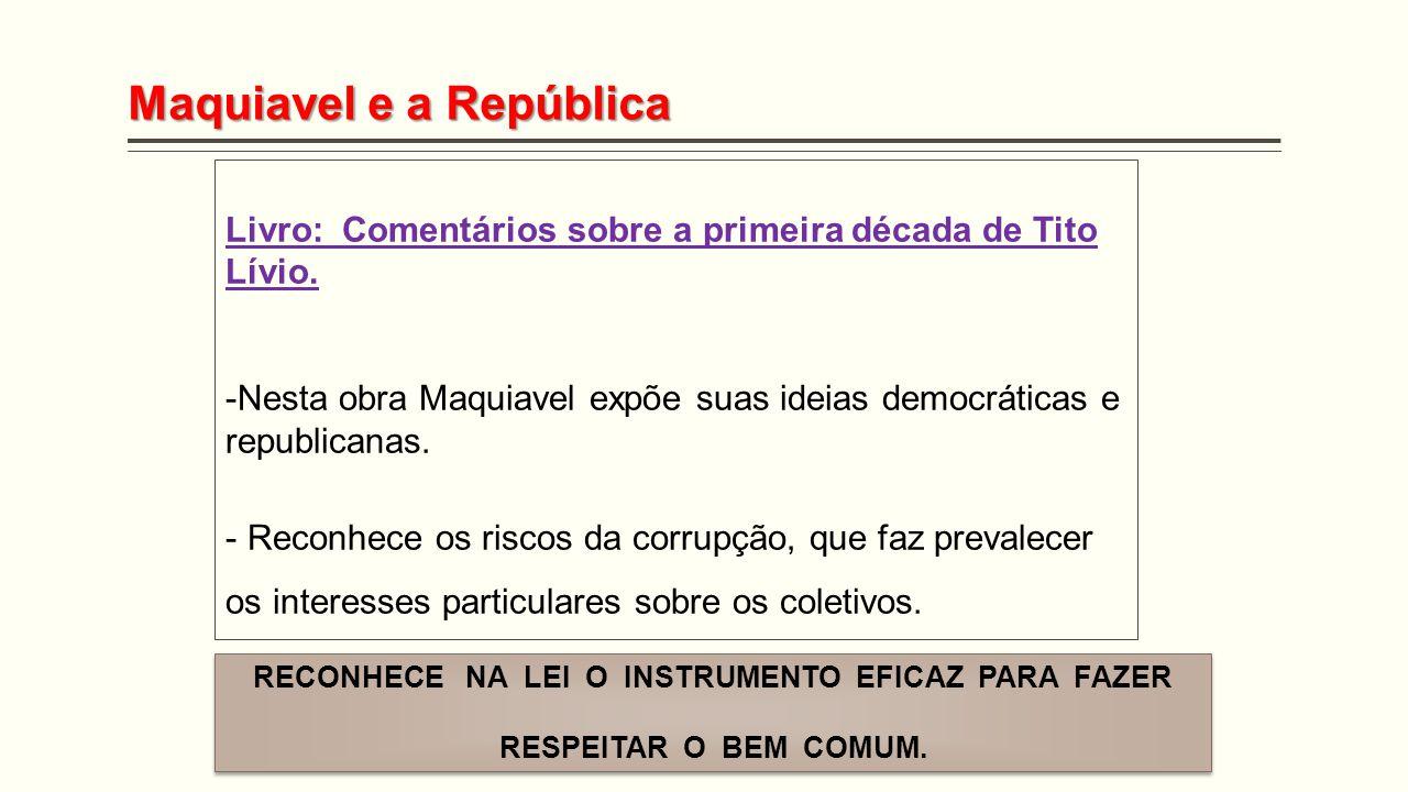 Maquiavel e a República