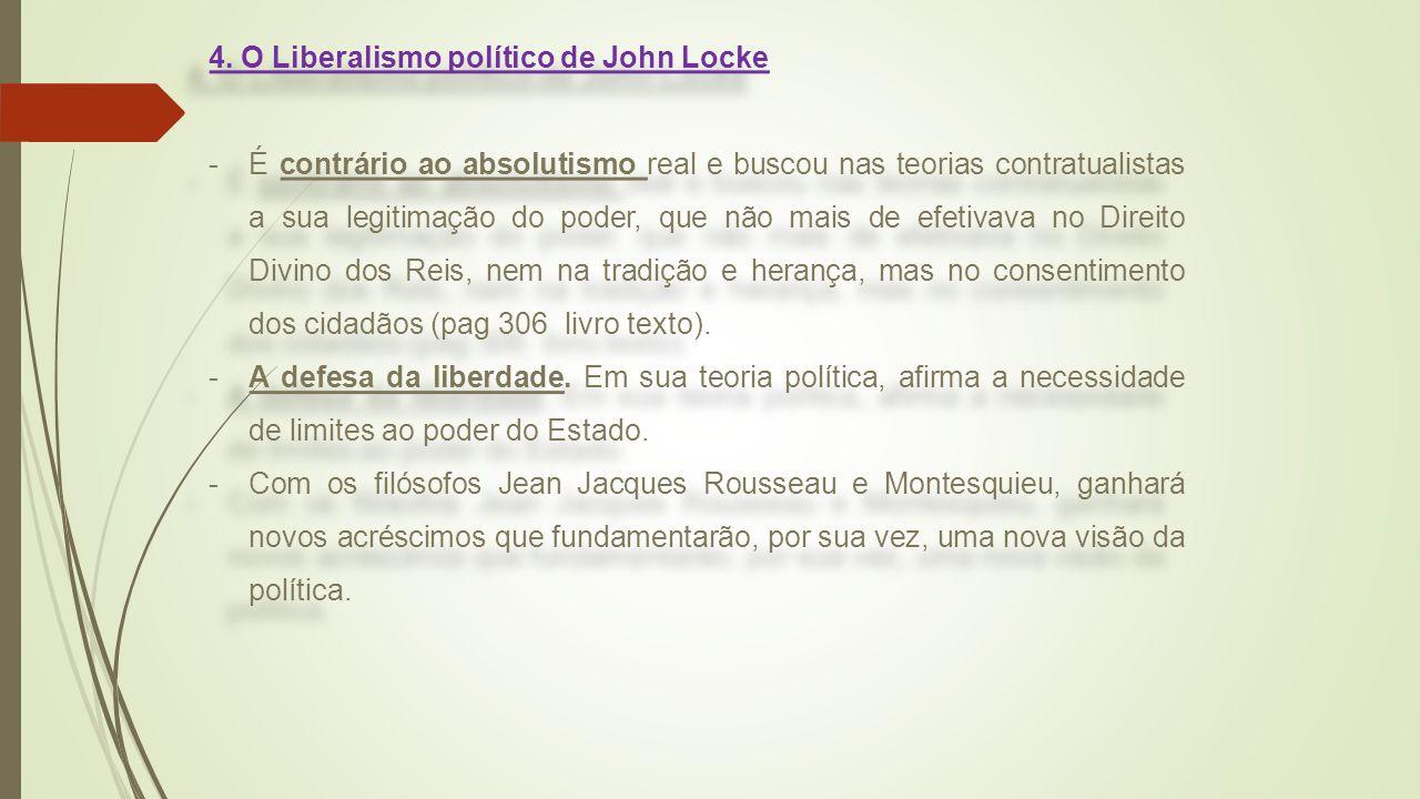 4. O Liberalismo político de John Locke